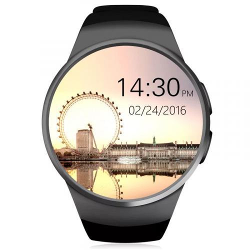 Умные часы KW18 черный
