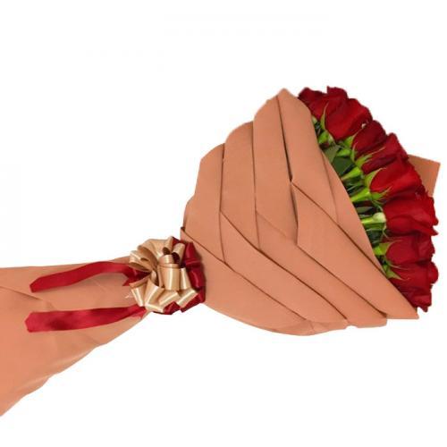 Букет восточный закат из 11 роз