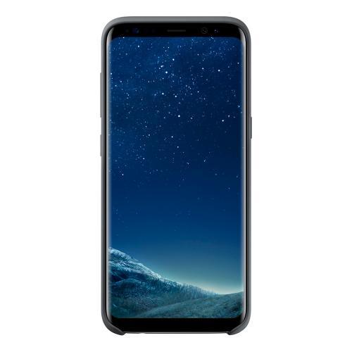 Чехол Samsung Silky and Soft Touch для Samsung Galaxy S8 силиконовый темно-серый
