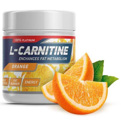 Аминокислоты Geneticlab L-Carnitin Powder апельсин