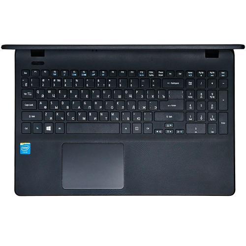 Ноутбук Acer Extensa EX2519 (Intel Pentium Quad Core N3710 (2M Cache,up to 2.56 GHz),4GB ram,128GB SSD,Intel HD Graphics,DVD Super Multi DL,15.6 LED,WiFi,Cam,Eng-Rus) черный