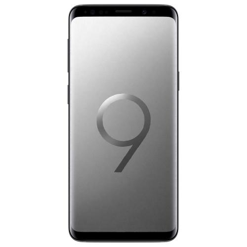 Смартфон Samsung Galaxy S9 Plus G965F 256 Gb (RAM 6 Gb) Dual Sim titanium gray