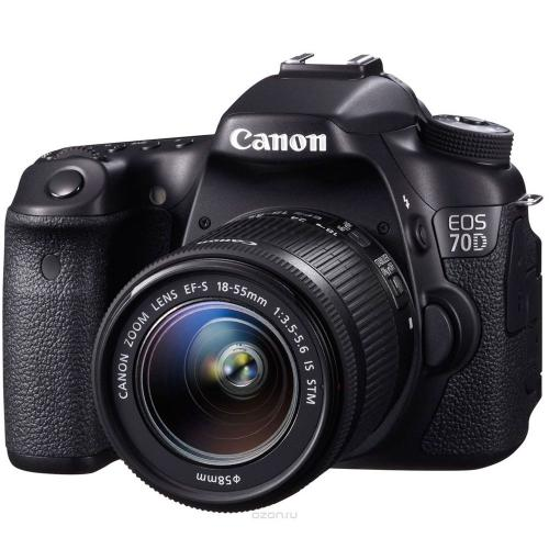 Зеркальный фотоаппарат Canon EOS 70D Kit 18-55 IS STM