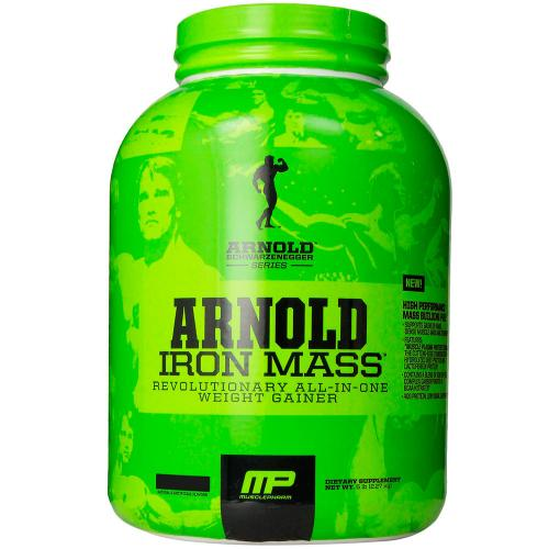 Гейнер MusclePharm Iron mass 2,2 кг шоколадный