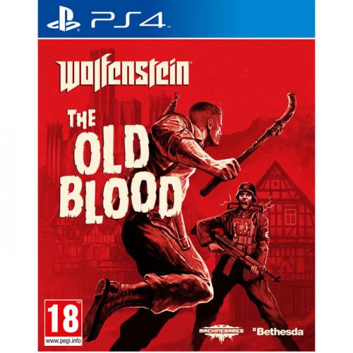 Игра для Sony PS4: Wolfenstein: The old blood