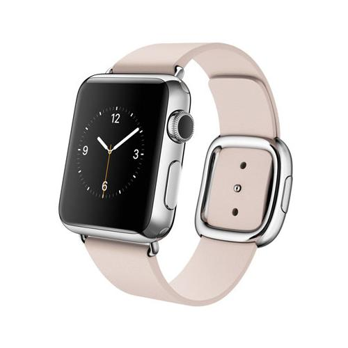 Умные часы Apple Watch mj372 Stainless Steel Case 38mm with Modern buckle pink