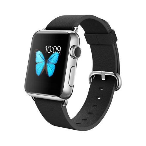 Умные часы Apple Watch mj3x2 Stainless Steel Case 42mm with Classic Buckle black