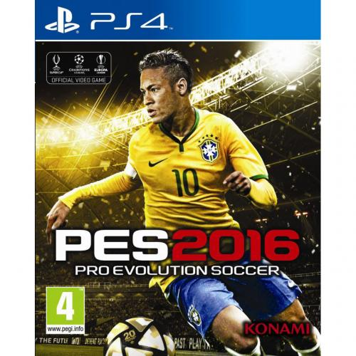 Игра для Sony PS4: Pro Evolution Soccer 2016 (PES 2016)