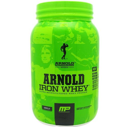 Протеин MusclePharm Arnold Series Iron Whey 2,2 кг ванильный