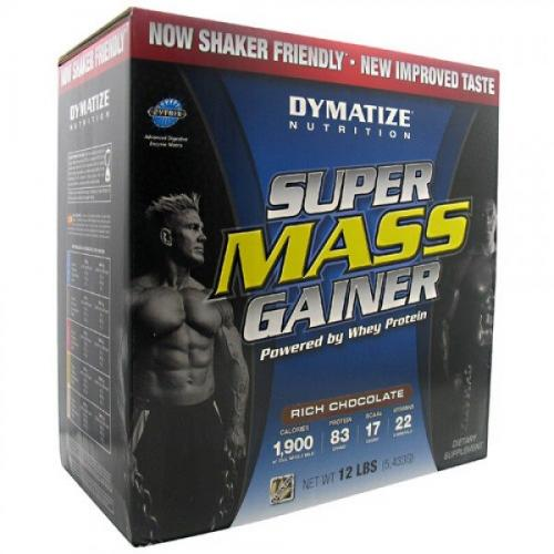 Гейнер Dymatize Super Mass Gainer 5.5 kg ванильный