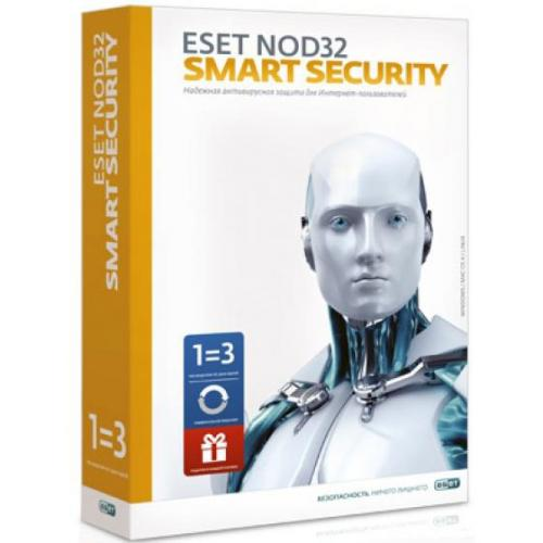 ESET NOD32 Smart Security - лицензия на 2 года на 3ПК Key
