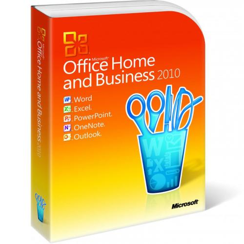Office Home and Business 2010 32-bit/x64 English non-EU/EFTA DVD