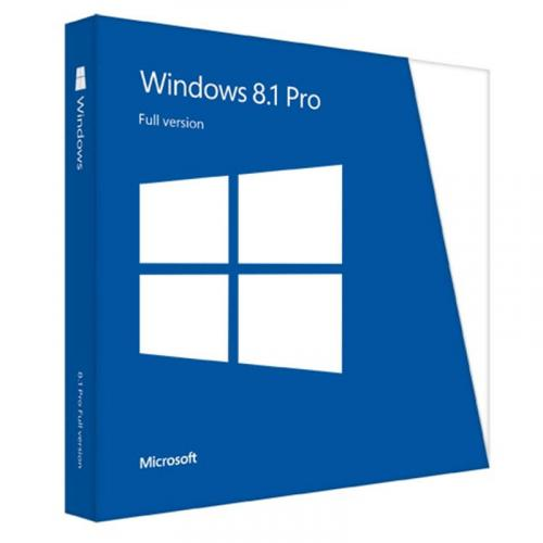 Windows Professional 8.1 32-bit/64-bit English International 1 License non-EU/EFTA DVD
