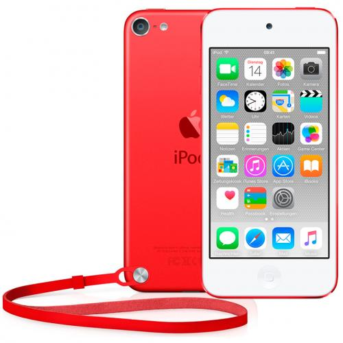 Apple iPod Touch 6 16Gb красный