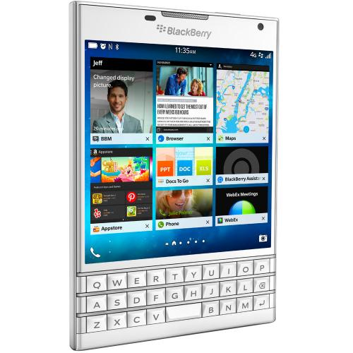 BlackBerry Passport LTE белый