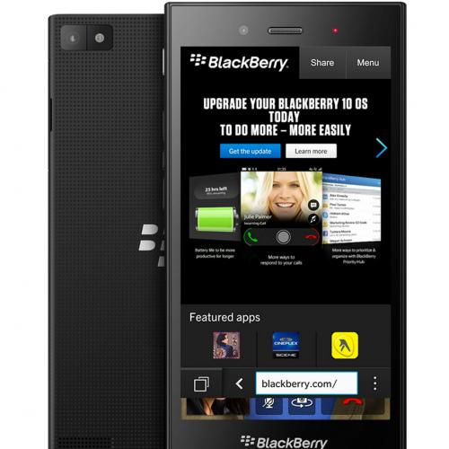 BlackBerry Z3 черный