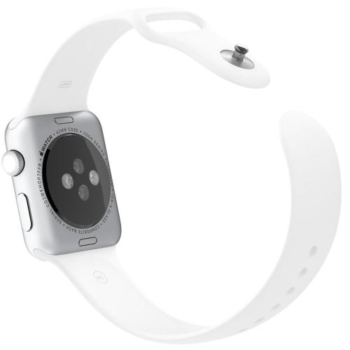 Умные часы Apple Watch Sport mj3n2 Silver Aluminum Case 42mm with White Sport Band