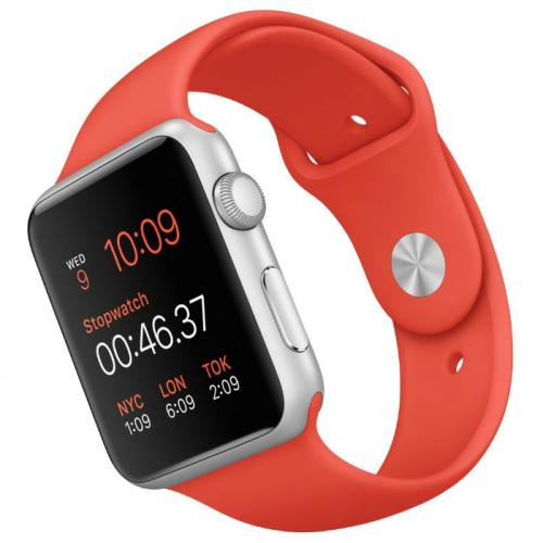 Умные часы Apple Watch mlc42 42mm orange sport band