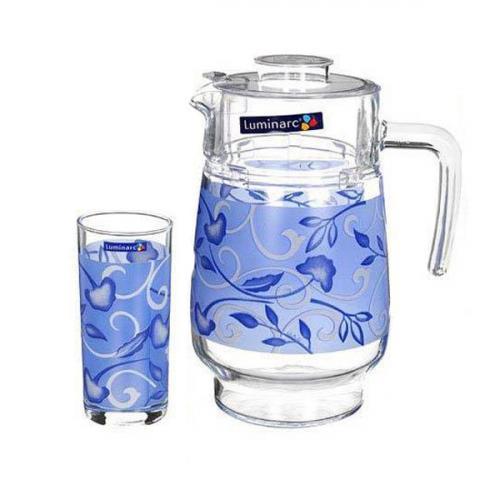 Графин и стаканы Luminarc Plentitude Blue