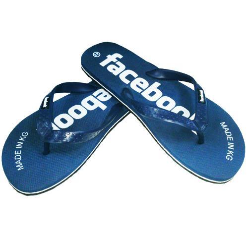 Сланцы «Facebook» синие