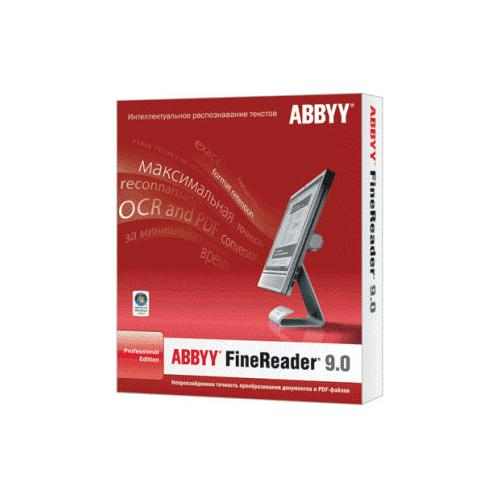 ABBYY FineReader 9 Professional Edition (коробка)