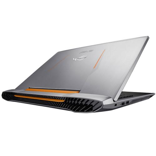 "Asus ROG G752VL-DH71 (Intel Core i7-6700HQ (2.60GHz), 16Gb DDR4 (2133Mhz),1TB HDD, DVD±RW, Nvidia GTX965M 2GB GDDR5,17.3"" IPS FHD (1920*1080) LED, WiFi, BT 4.0, CR, HD WC, Win10 (64 bit), Backlit Eng) серебритсый"