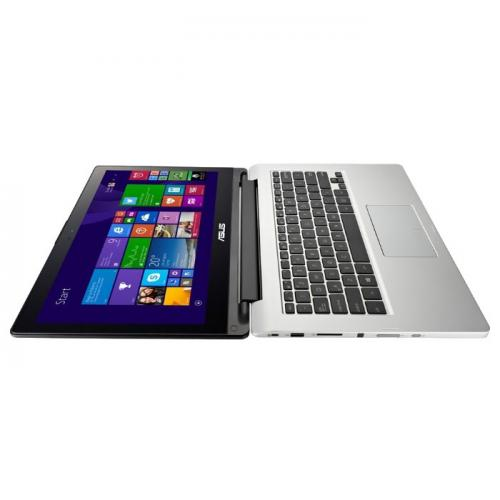 Asus Transformer Book Flip TP300LD (Intel Core  i5-5200  (3M Cache, up to 2.70 GHz), 4GB DDR3 1600Mhz , 1000GB HDD, NVIDIA GT820M 2GB Video Card, USB 3.0, 13.3 IPS LED Touchscreen, WiFi, Bluetooth,Win8.1 64bit, Up to 7 hours battery life, WebCam, Eng-R) серебристый