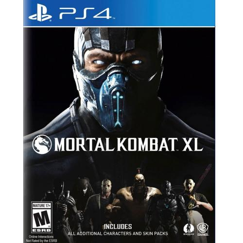 Игра для Sony PS4: Mortal Combat XL