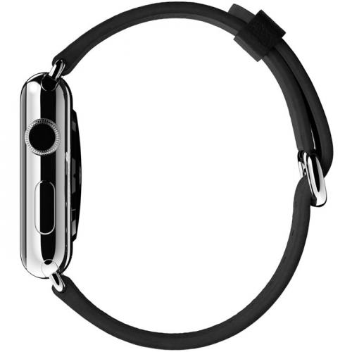 Умные часы Apple Watch mlfa2 42mm stainless steel case with black classic buckle