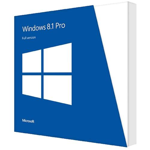 Windows Professional 8.1 64-bit English Intl 1pk DSP OEIDVD