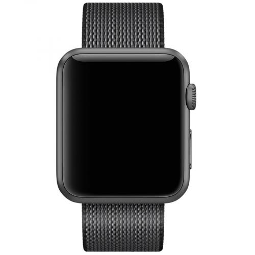 Умные часы Apple Watch Sport MMF62 38mm Space Grey Aluminium Case with Black Woven Nylon