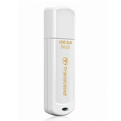 Флеш картa Transcend JetFlash 730 64Gb USB 3.0 белый
