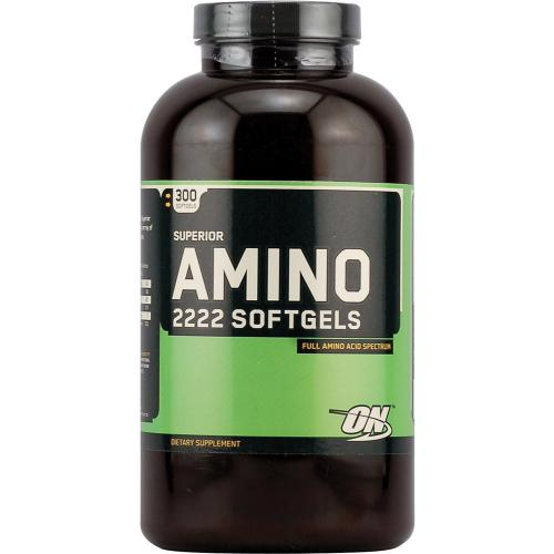 Аминокислоты Optimum Nutrition Amino Softgels 300 гелевых капсул
