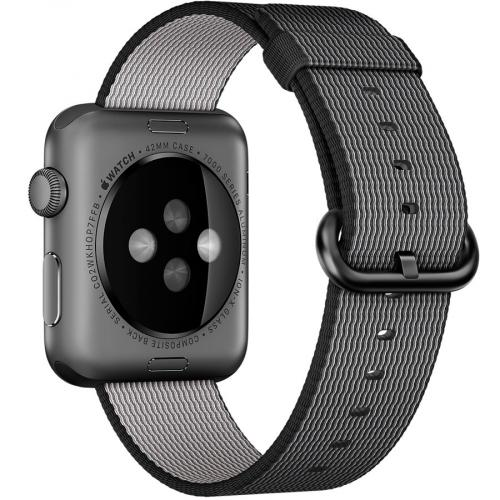 Умные часы Apple MMF62 38mm Space Grey Aluminium Case with Black Woven Nylon
