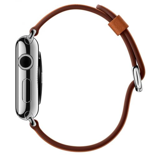 Умные часы Apple Watch MMFT2 42mm Stainless Steel Case with Saddle Brown Classic Buckle