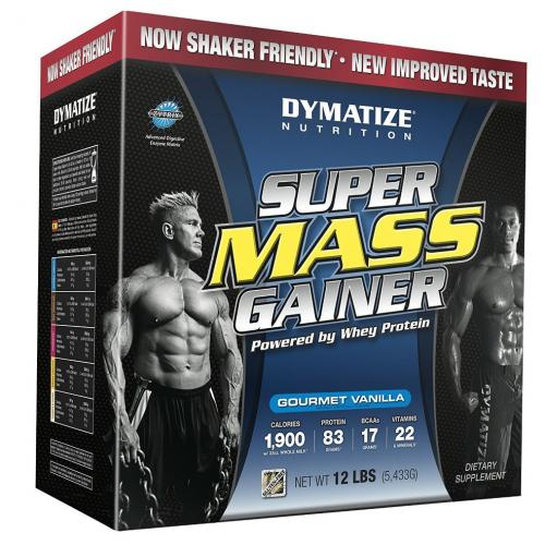 Гейнер Dymatize Super Mass Gainer 5.5 kg клубничный