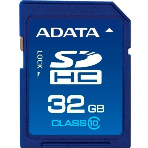Карта памяти Adata SDHC UHS-I 32Gb Class 10