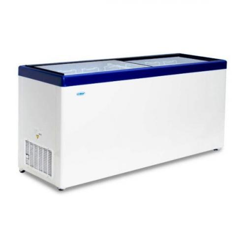 Морозильный ларь с прямым остеклением Снеж МЛП-700