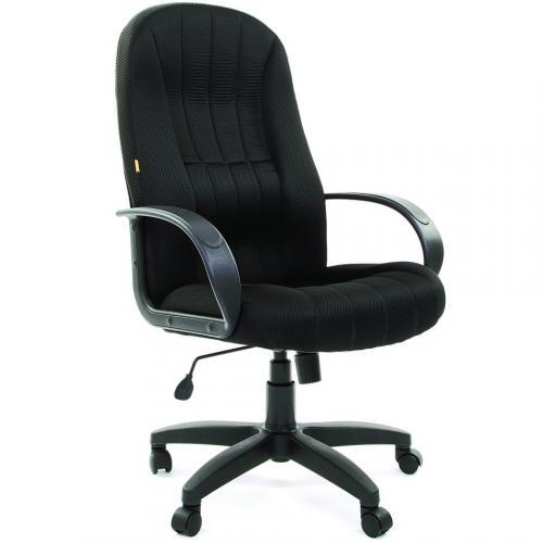 Кресло Chairman 685 ткань черная