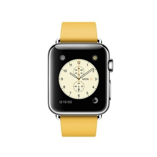 Умные часы Apple MMFF2 38mm Stainless Steel Case with Marigold Modern Buckle-Medium Size Band