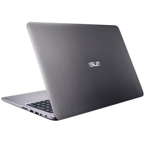 "Asus K501UX (Intel Core i7-6200U (2.30-2.80GHz), 8GB DDR3, 128GB SSD+1TB HDD, nVidia GTX 950M 2GB, 15.6""FHD, Win 10) серый"