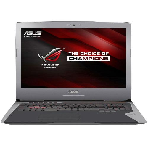 "Asus ROG G752VT-DH72 (Intel Core i7-6700HQ 2.60-3.50GHz,16GB DDR4,128GB M.2 PCIex SSD+1TB HDD,DVD±RW, nVidia GTX 970M 3GB GDDR5,17.3""FHD (1920x1080) IPS,WiFi ac,BT 4.0,CR, HD WC,Win 10) серый"
