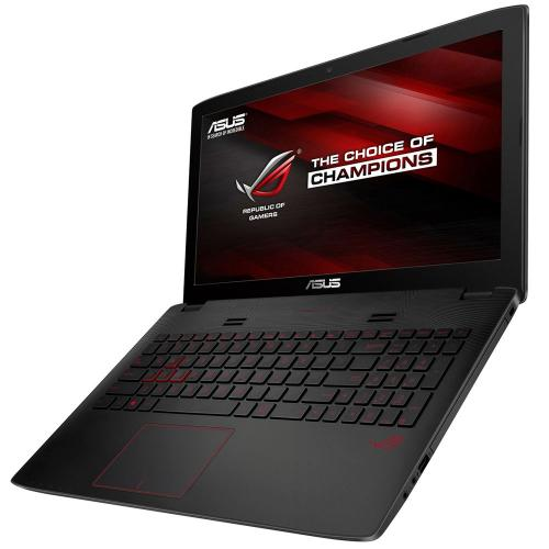 "Asus ROG GL552VW-DH74 (Intel Core i7-6700HQ 2.60-3.50GHz,16GB DDR4,128GB M.2-2280 SSD+1TB HDD,DVD±RW,nVidia GTX 960M 4GB GDDR5,15.6""FHD (1920x1080)IPS,WiFi ac,CR,Win 10) серый"