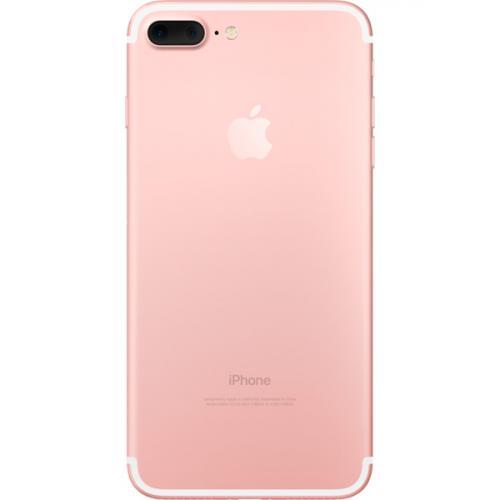 Apple iphone 7 Plus 256gb розовое золото вид сзади