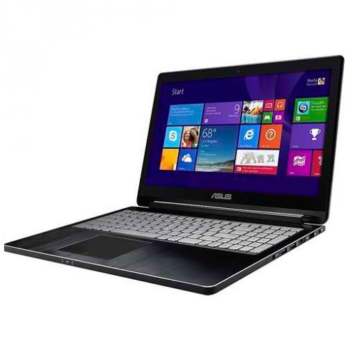 "Asus Q502LA x360 (Intel Core i5-5200 (3M Cache, up to 2.70 GHz)8GB RAM,1000GB HDD,15.6"" FullHD (1920x1080)Touchscreen,HD Webcam,UltraSLIM,Win8.1) черный"