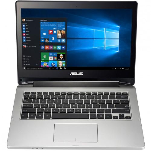 Asus Transformer Book Flip TP300LD x360 (Intel Core i5-5200 (3M Cache, up to 2.70 GHz)4GB DDR3 1600Mhz,500GB HDD,Nvidia GT820M 2GB VC,13.3'',DOS,WC) серый