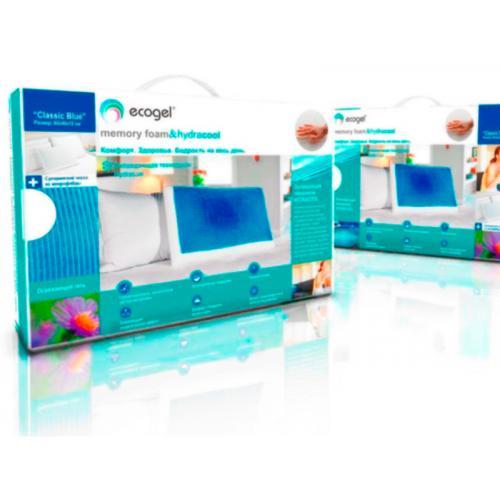 Подушка Ecogel Classic Blue