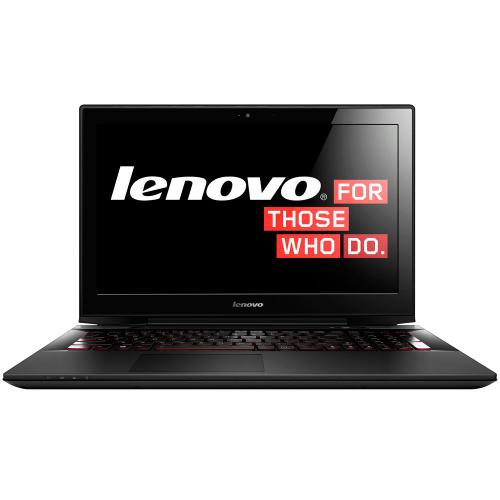 "Lenovo Y50-70 UltraSlim (Intel Core i7-4720HQ (6M Cache, up to 3.60 GHz)4GB RAM,1000GB HDD+8GB SSD,15.6""(1920x1080),GeForce GTX 960M 2048MB ddr5 128bit VC,DVD-RW,HD Webcam,Win10) черный"
