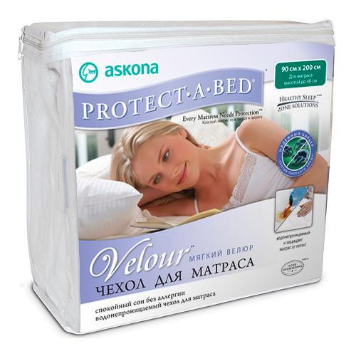 Чехол Protect-a-Bed Velour 200*140*35,6