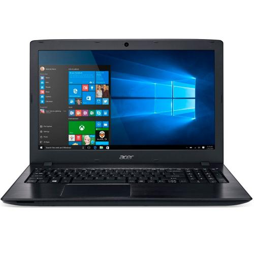 "Acer Aspire E5-575G (i5-6200U 2.3-2.8GHz,8GB,1TB,GT940MX 2GB,DVDRW,15.6""HD LED,WF,CR,RUS,DOS) черный"